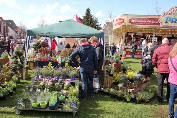 Frühlingsmarkt in Rastede