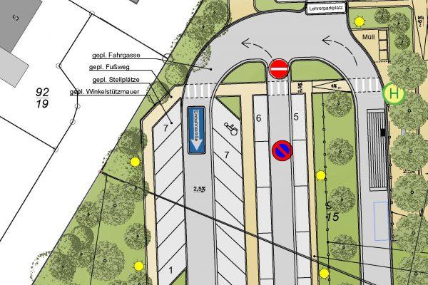 Parkplatzanlage