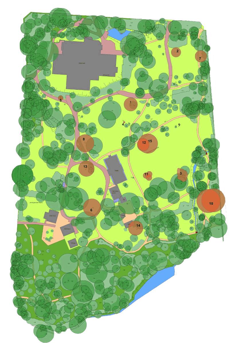 Lageplan Palaisgarten