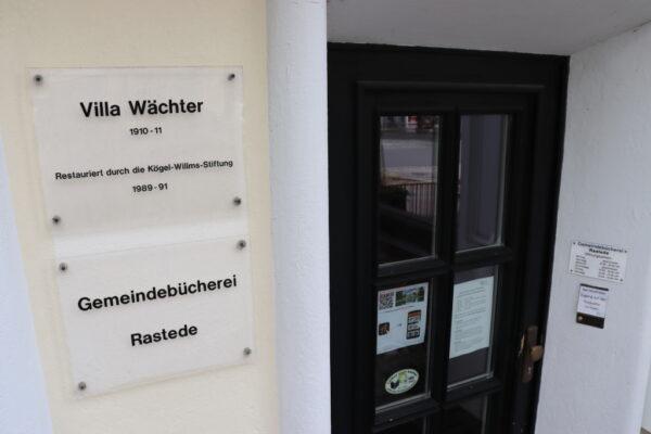 Gemeindebücherei Eingang