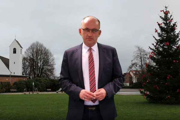 Bürgermeister Lars Krause Weihnachtsbotschaft