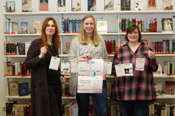Gemeindebücherei holt Gewinnspiel-Aktion nach